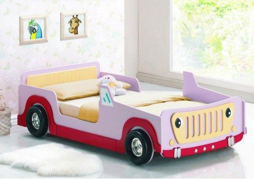 Pink Jeep Inspirasi Anak Dan Tempat Tidur