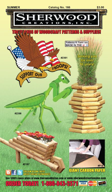 Wooden Toys Catalog : Thousands of woodcraft patterns and supplies call for