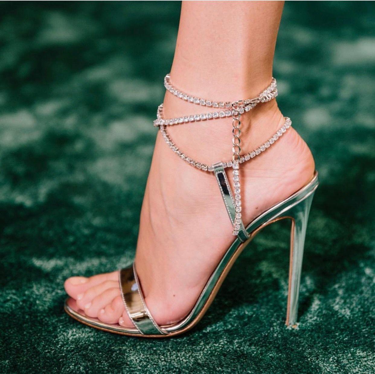 6f0737b2f4b Gianvitorossi Eternity Bracelet Stiletto 2019  shoes  shoesaddict  sandals   zapatos  estilo  fashion  style  vanessacrestto  stiletto