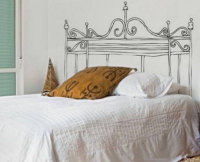 Ideas para hacer cabeceros originales y baratos 15 ejemplos decoraciones sencillas - Cabeceros baratos y originales ...