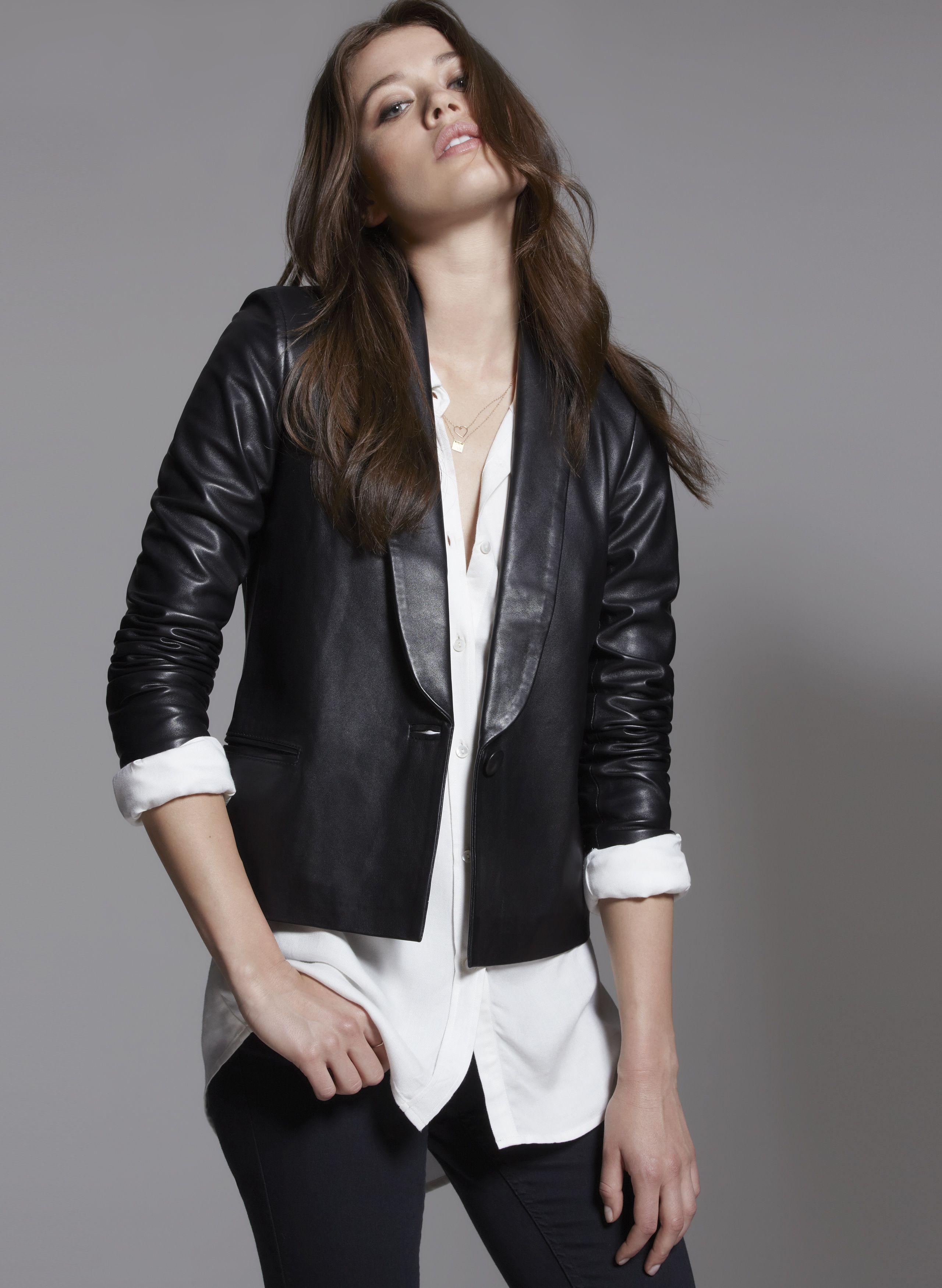 4e30df5c7 Baukjen   Leather   Aldridge Leather Jacket   clothes   Fashion ...