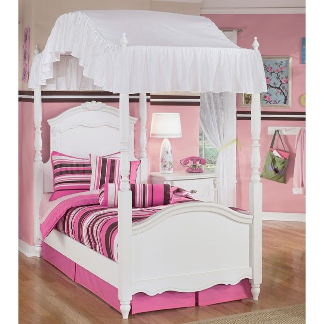 Canopy bed & Canopy bed | Brianna | Pinterest | Canopy French provincial and ...