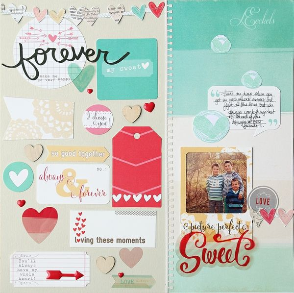 Forever sweet by Lilith Eeckels @2peasinabucket