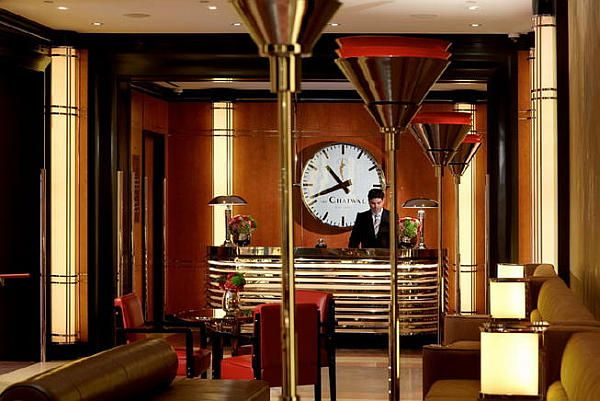 Luxury Art Deco Chatwal Hotel in New York, Pretending to ...