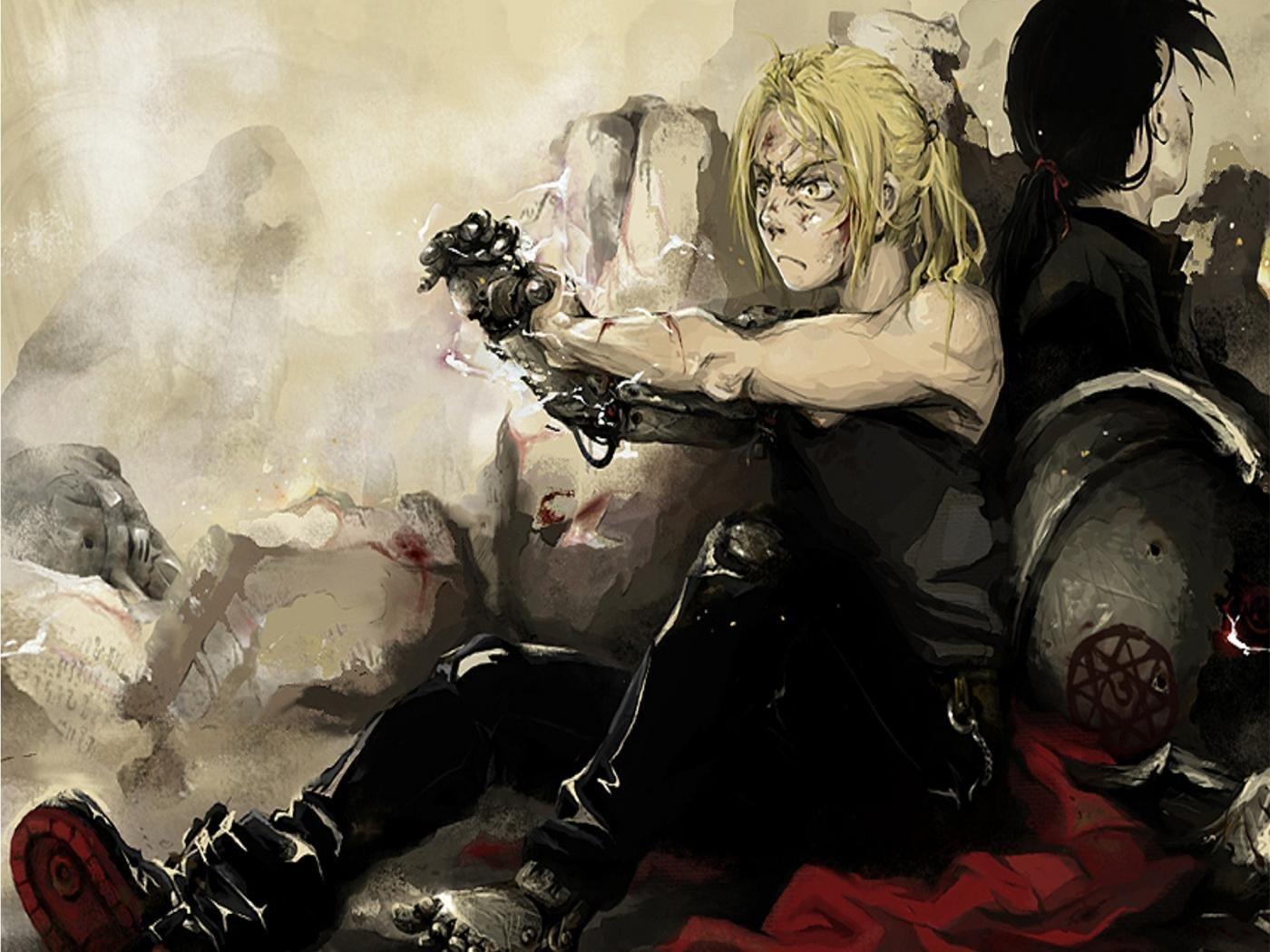 Edward Elric In Hd Wallpaper Anime Full Metal Alchemist