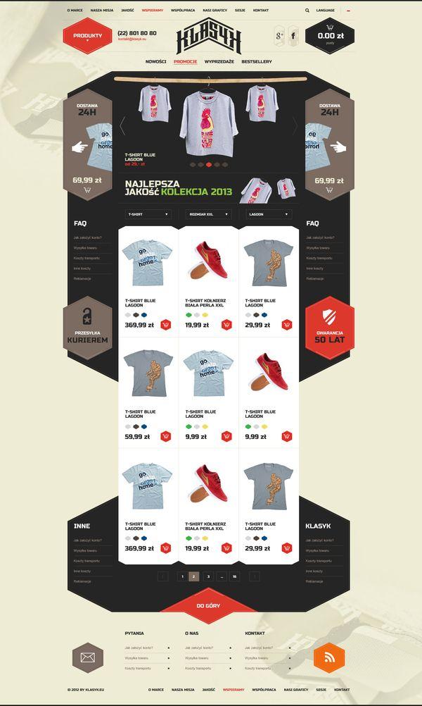 e0cbbdcfe24 High quality clothes manufactured in Poland - Sebastian Profic  design   webdesign  e-commerce