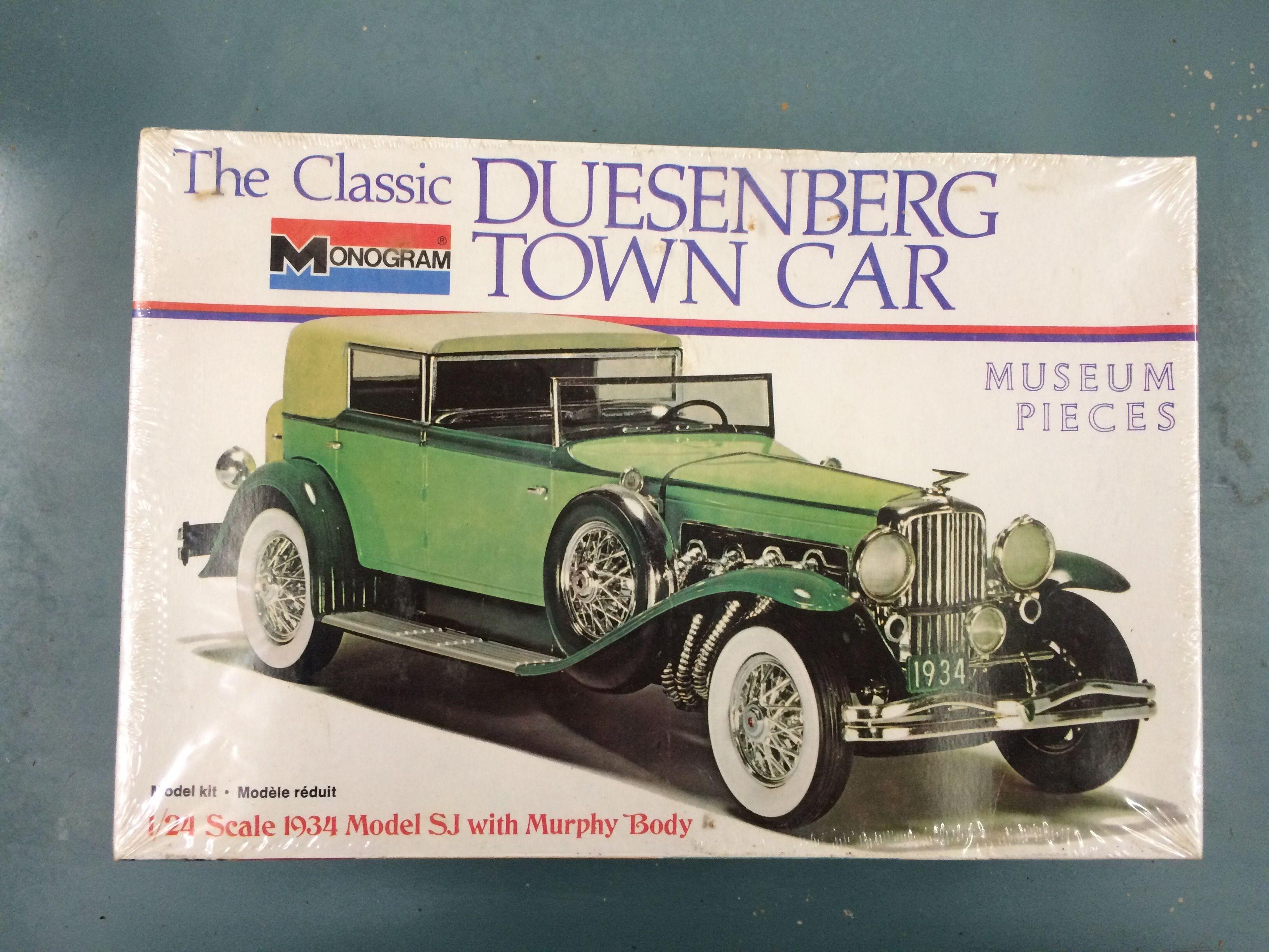 Duesenberg Model Car Kit Model Cars Kits Model Kit Monogram Models