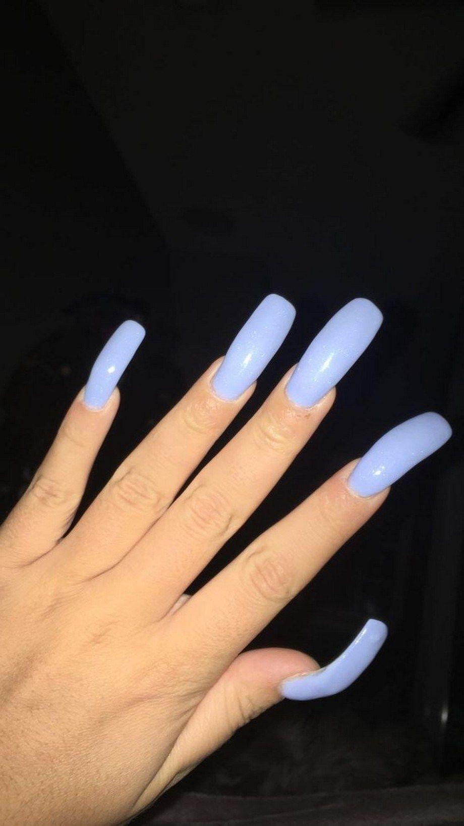 60 Natural Summer Nail Color Ideas For 2019 Summernailscolors Summernails Nailscolors Sassykatchy Com Crazy Nails Blue Acrylic Nails Nails