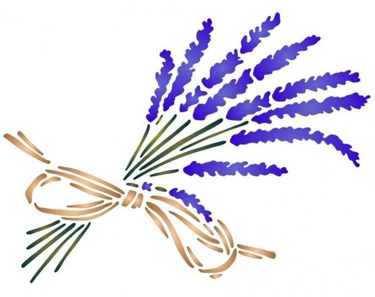 Bouquet de lavande raphia dessiner fleurs arbres - Fleurs a dessiner modele ...