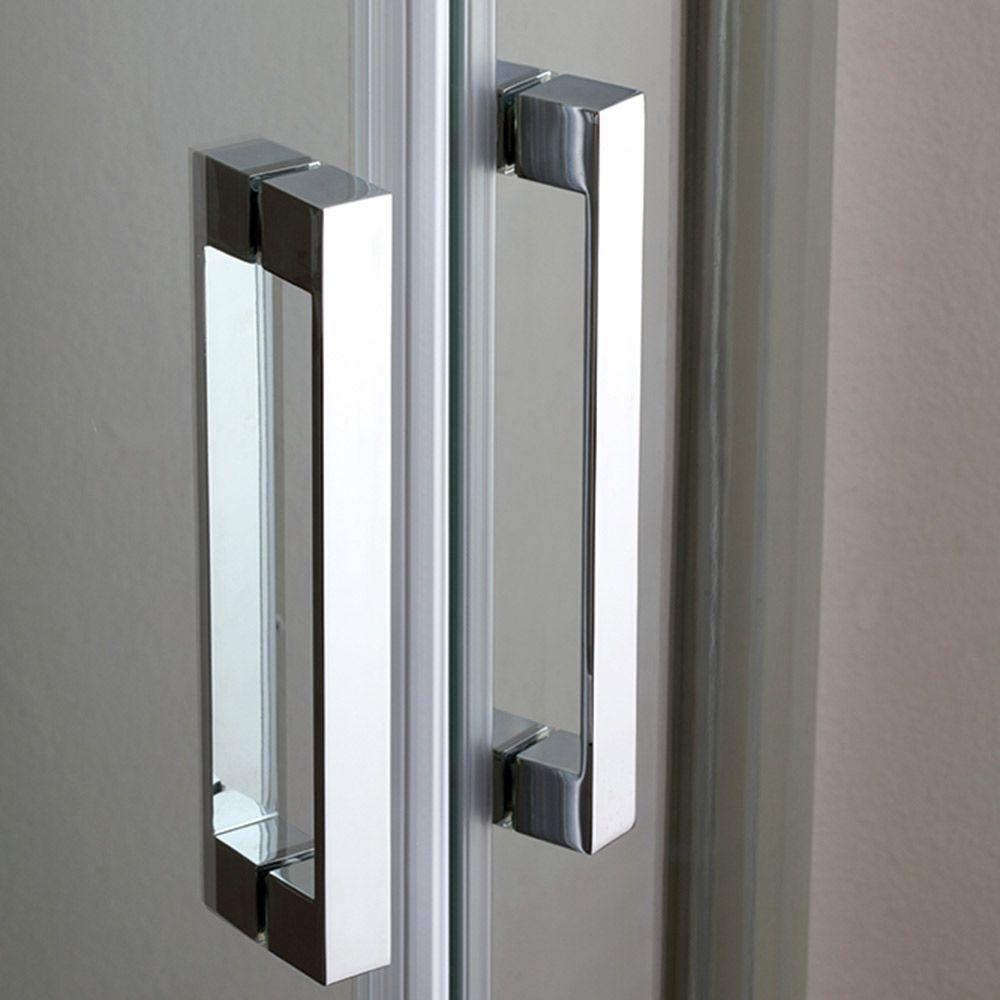 FULL Box doccia a nicchia con doppia porta scorrevole
