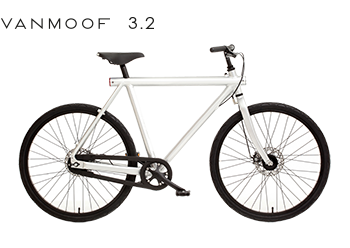 Vanmoof 3 With 7 Speed And 28 Frame Vanmoof Commuter Bicycles