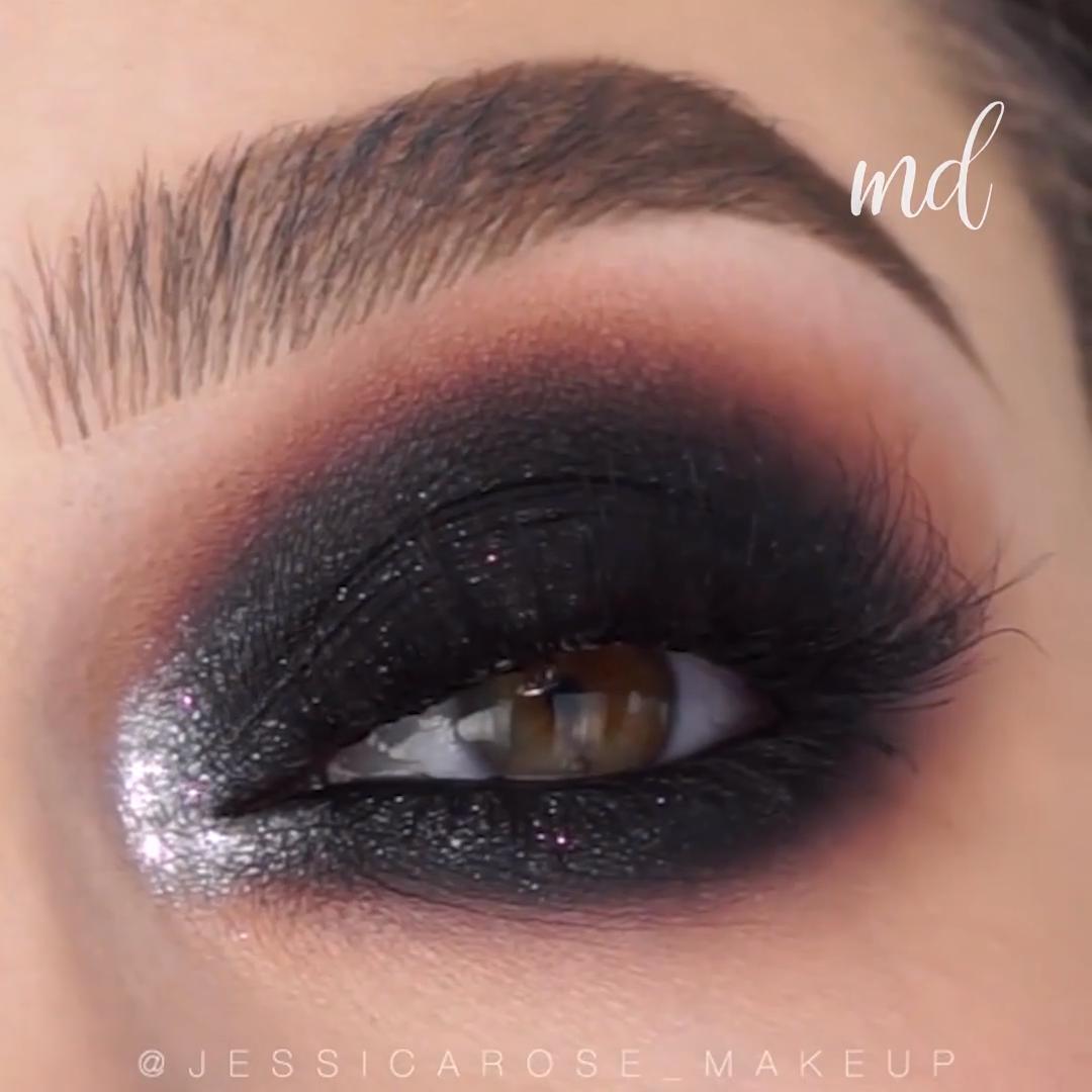 Photo of Black Smokey Eye Makeup Tutorial