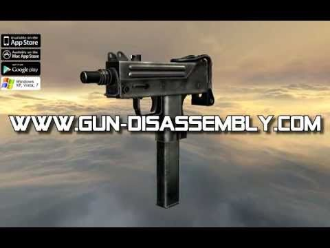 MAC 10 full auto (full disassembly and operation) - YouTube