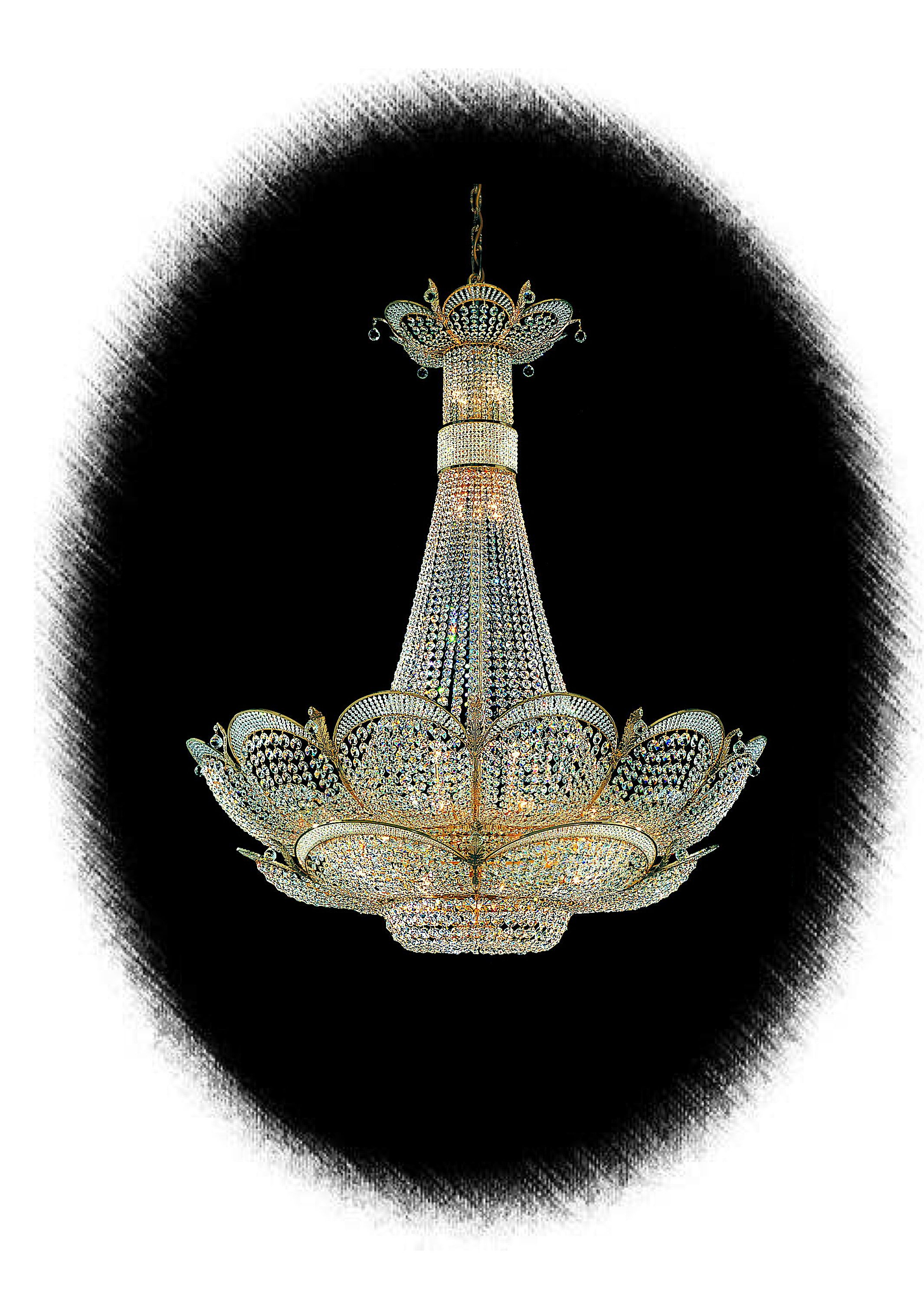 Very beautiful crystal chandelier with swarovski crystals made by very beautiful crystal chandelier with swarovski crystals made by faustig 65512 140 arubaitofo Image collections