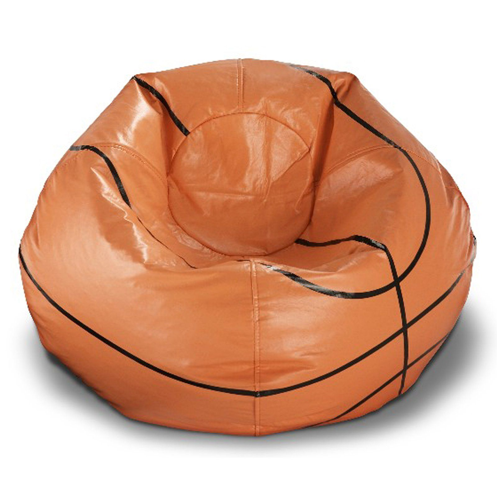 Basketball Chairs Ace Casual Furniture Vinyl Basketball Bean Bag Chair In 2019