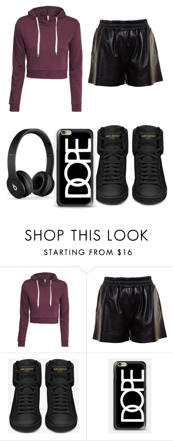 """""""Just A Other Day"""" by lil-naomi-1990 ❤ liked on Polyvore featuring H&M, Acne Studios, Yves Saint Laurent and Casetify"""