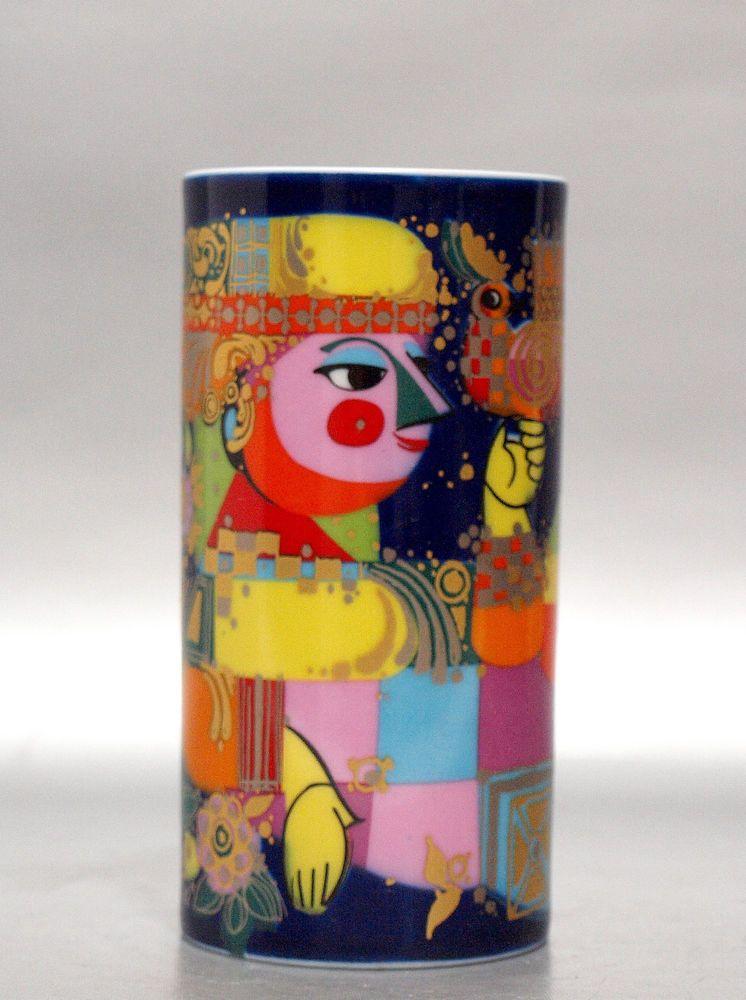 70er rosenthal vase serie alladyn design bj rn wiinblad. Black Bedroom Furniture Sets. Home Design Ideas