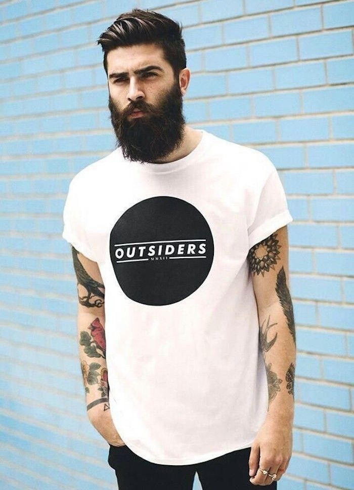 Coupe Hipster Le Style Pompadour Et Autres Tendances En 50 Idees Archzine Fr Chemise Homme Style Hipster Tatouage De Barbu
