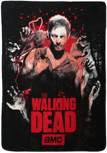 Walking Dead Throw Blankets Awesome The Walking Dead Daryl Throw Blanket  Walking Dead  Pinterest Inspiration