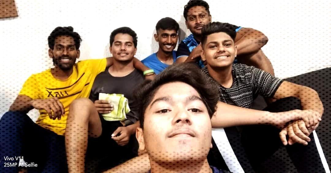 Post workout selfie by @king__kanojia @awesh_kaladiya @meher_nandu @rahul_patel5109 @_chetan20_