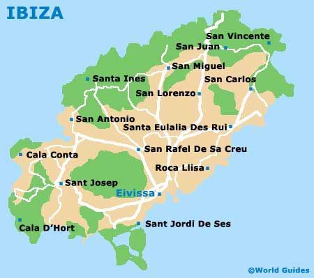 San Carlos Ibiza Mapa.Ibiza Maps And Orientation Ibiza Balearic Islands Spain Ibiza Map Balearic Islands Ibiza