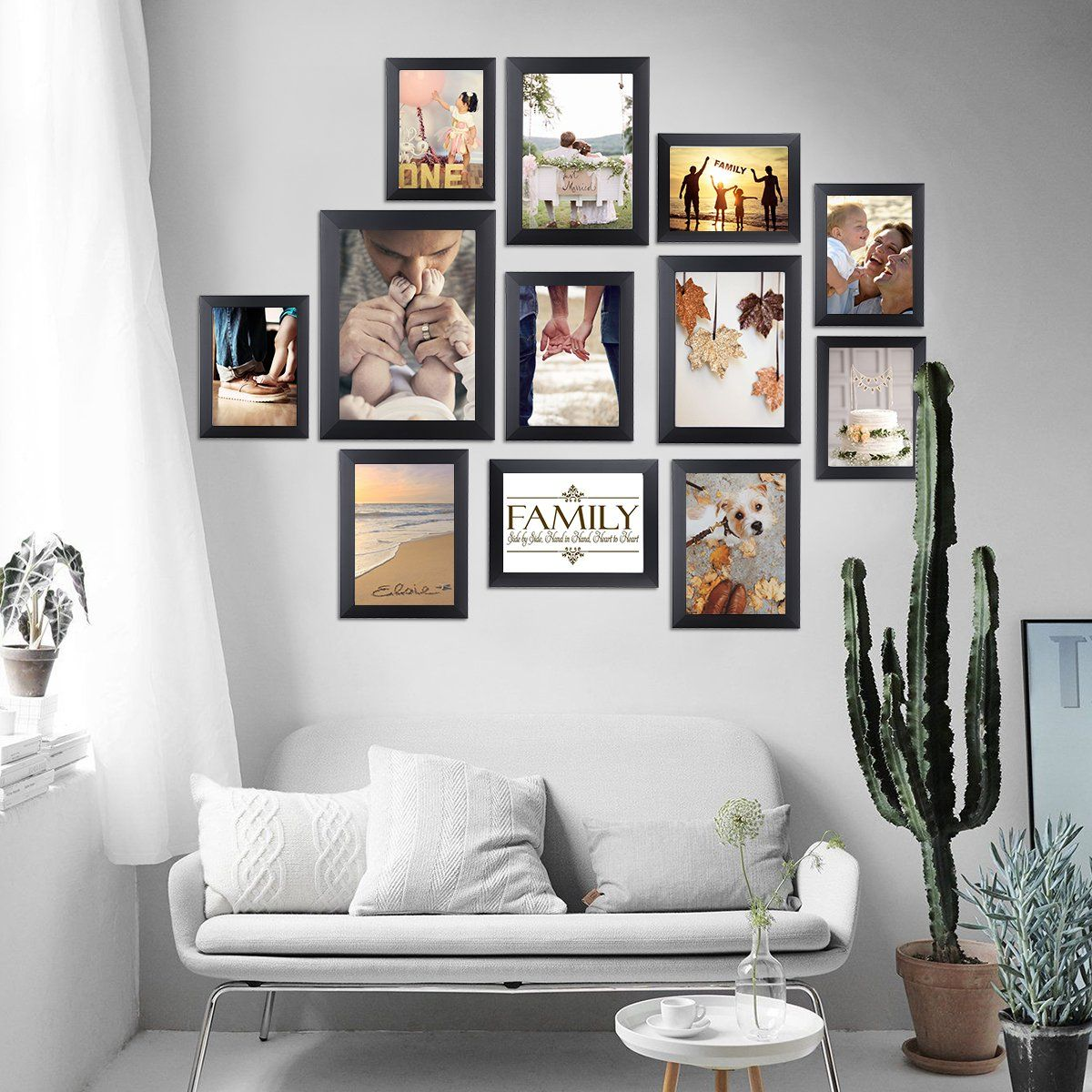 Homemaxs Picture Frame Collage Photo Frame Wall Mounting Photo Frames Ecofriendly Family Photo Frame 12 Set Frames On Wall Photo Frame Wall Family Photo Frames