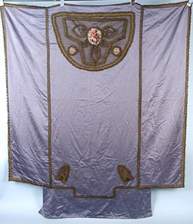 Silk Bed Cover, c. 1910