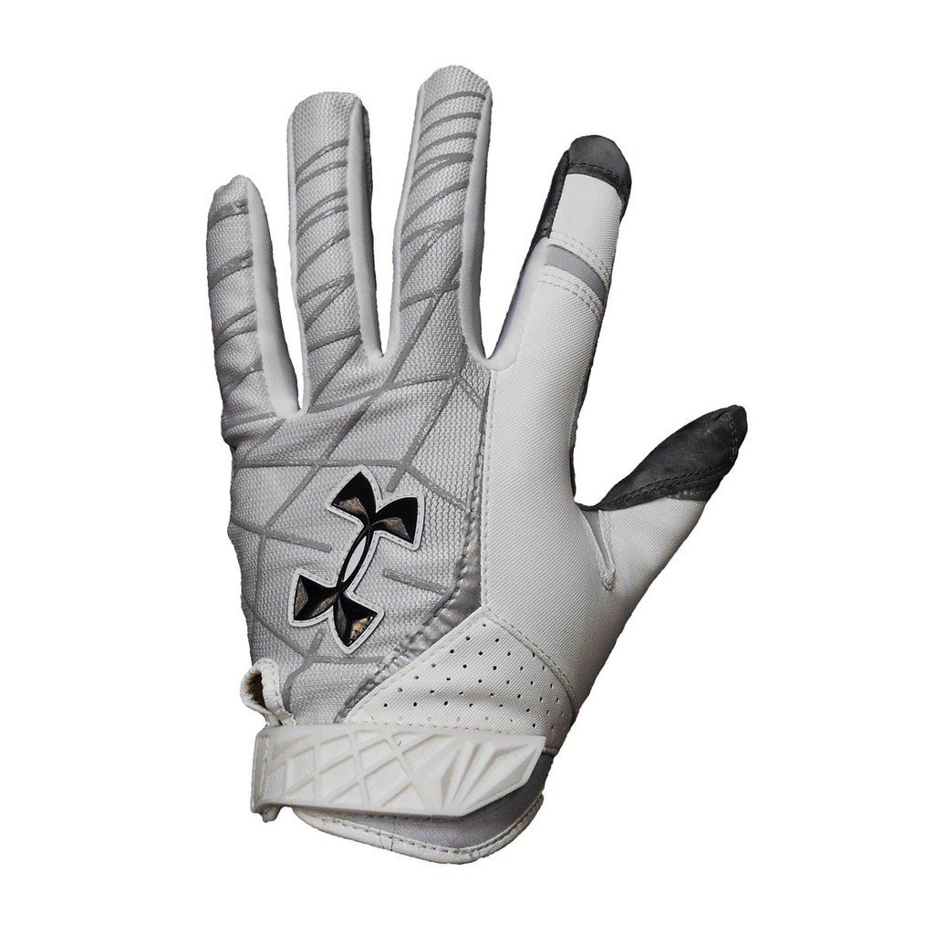 Under armour leather work gloves - Under Armour Warp Leather Football Gloves