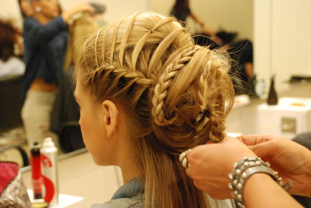 Toni And Guy Styles At A Austin Charity Event Fashion Show