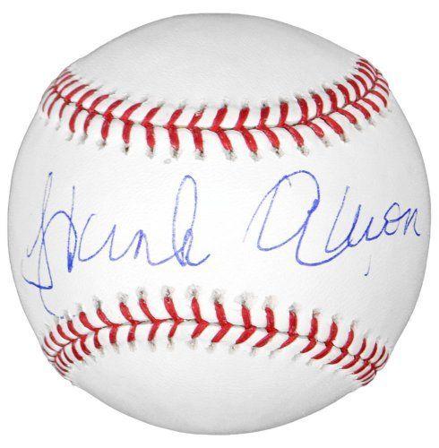ce038503 Hank Aaron Autographed Baseball - Steiner Sports Certified ...