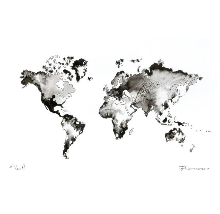 World Map Black And White Tumblr. Paintings ccad882b4264f60924f084ac60bbf3f4 jpg 736 715 pixels  x Awesome