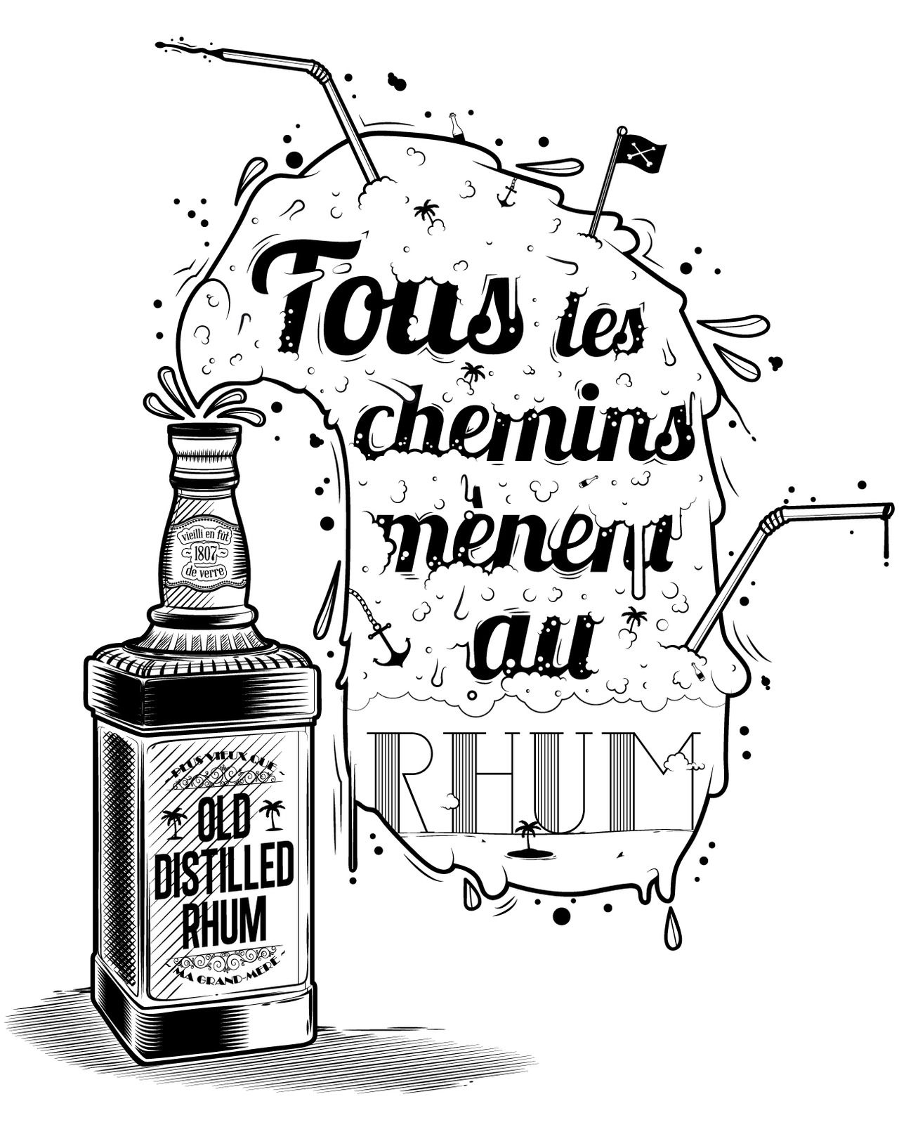Épinglé par Roberto Quiñones sur Logos & Types Rhum