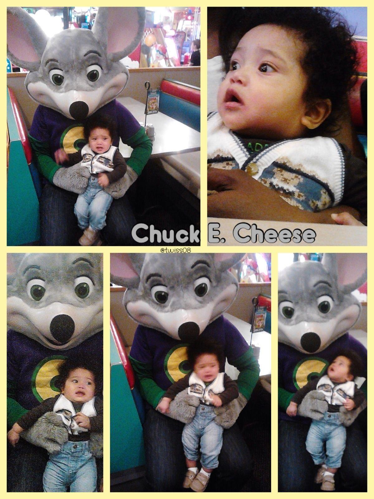 Blasian baby at Chuck E Cheese. Scared :(  BlasianBabies.com