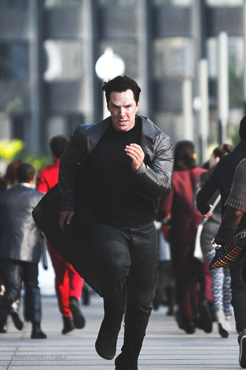 New running mantra: Run like Benedict is getting away from you! I'll go till the end of universe ^-^