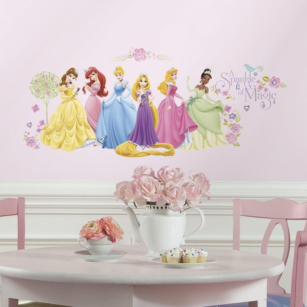 Asian Paints Nilaya Disney Glow Princess Peel Stick Wall Decals Disney Princess Wall Decals Disney Princess Wall Stickers Princess Decal