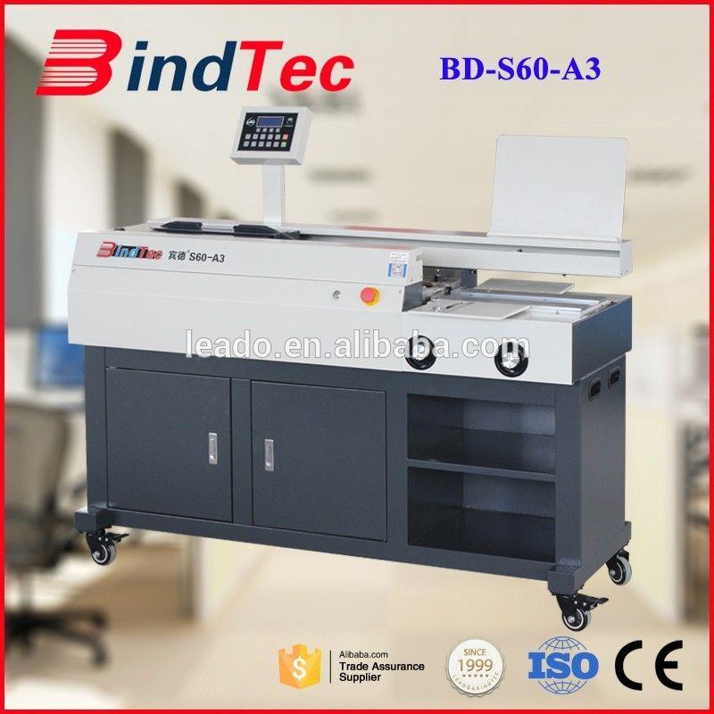 BD-S60-A3 High Quality Hot Melt Glue Binding Equipment
