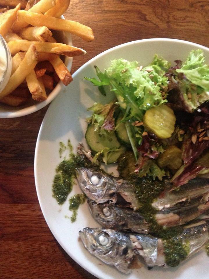 Fish and Chips @ Mamas Amsterdam