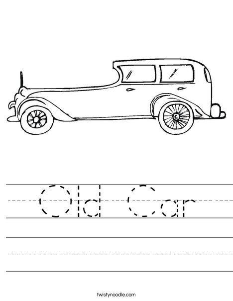 car worksheets car worksheet cars pinterest worksheets. Black Bedroom Furniture Sets. Home Design Ideas
