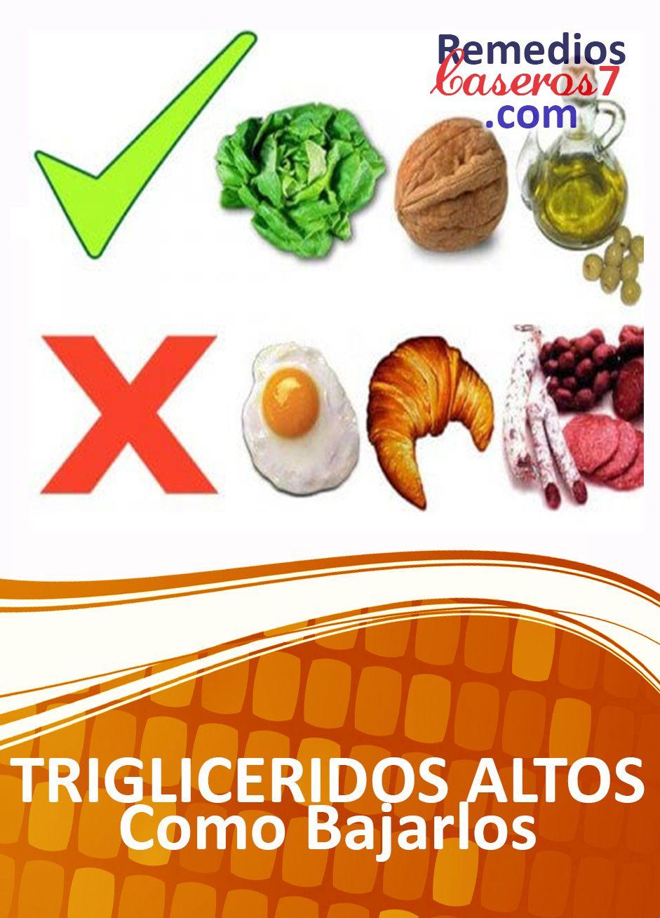 alimentos para reducir colesterol y trigliceridos