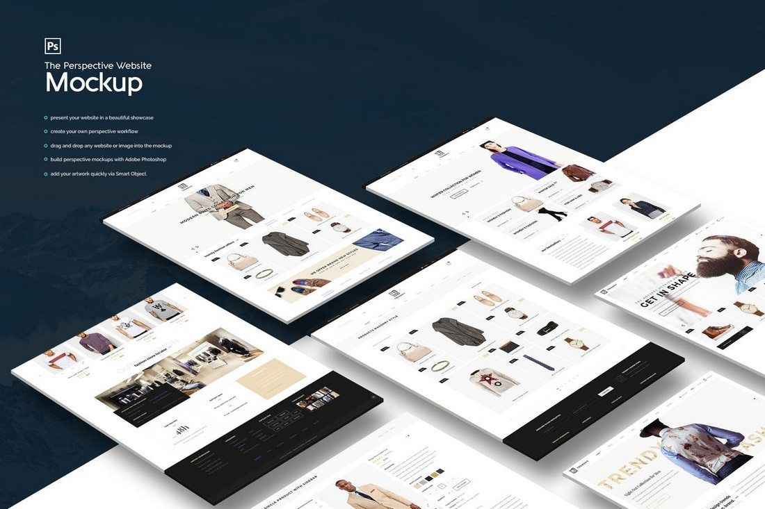 50 Best Website Psd Mockups Tools 2021 Website Mockup Web Design Mockup Website Mockup Psd