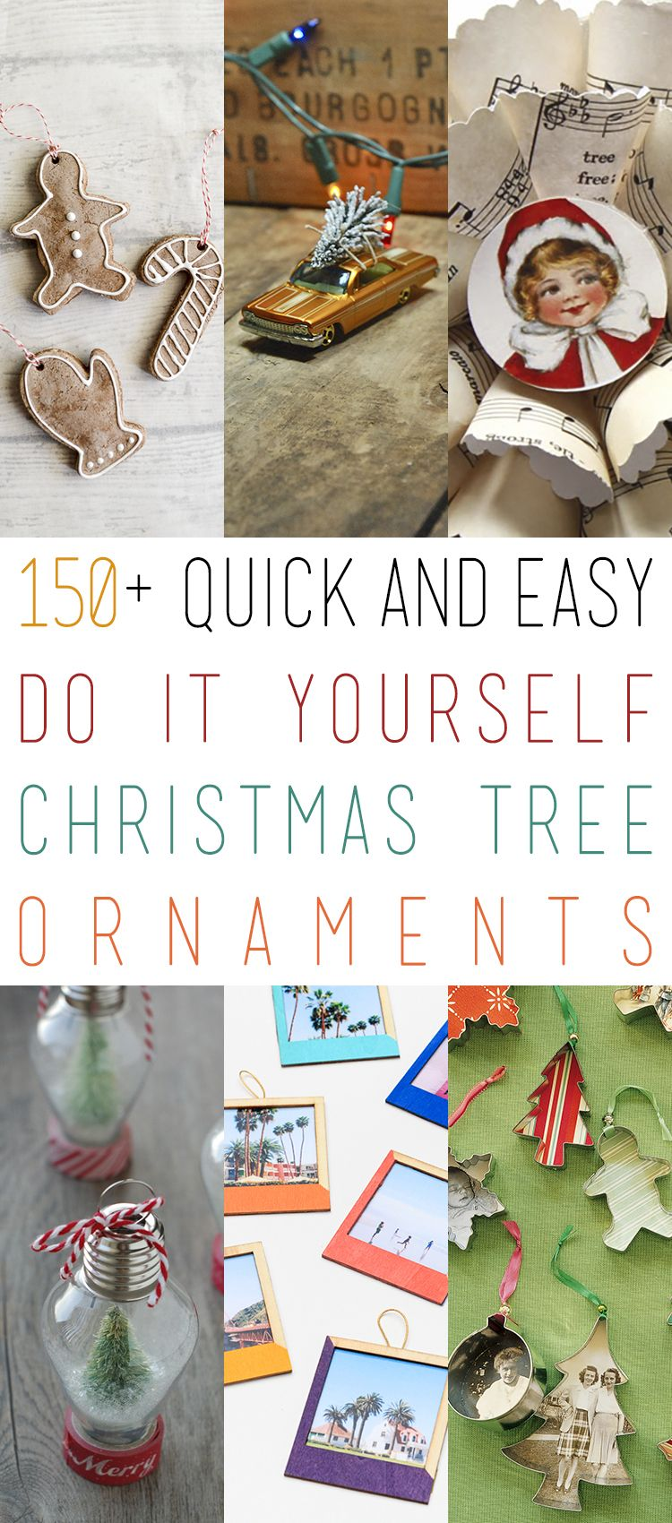 150 quick and easy diy christmas tree ornaments christmas tree 150 quick and easy diy christmas tree ornaments solutioingenieria Choice Image