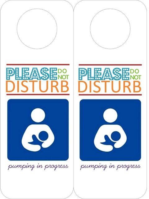 nursing  pumping  room etiquette