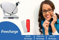 You want to save money on your mobile DTH or data cards recharge? FreeCharge, a business unit of Accelyst Solutions Pvt. Ltd Offering Discount Coupons through ZeeCoupons.in
