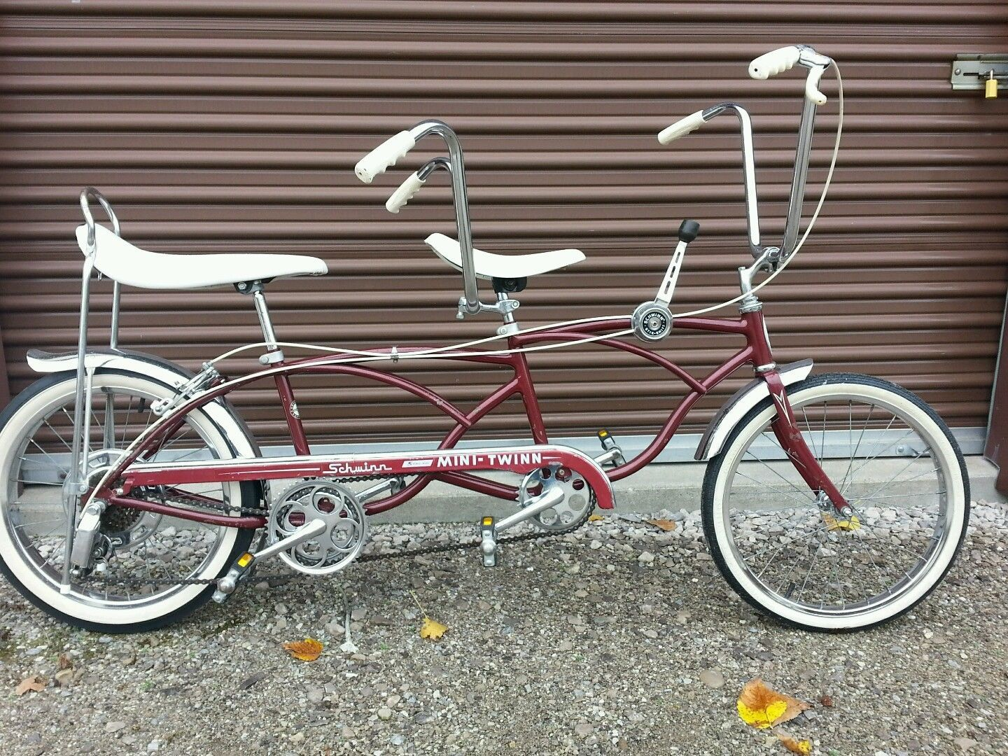Arte Johnson On Bike Schwinn Mini Twin Bicycle Junkies Bicycle Lowrider Bike