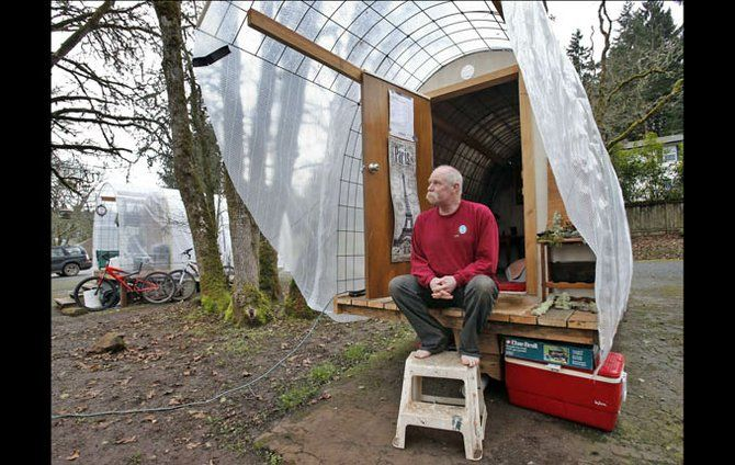 Pin By Ken B On Campers Homeless Shelter Design Small House Homeless