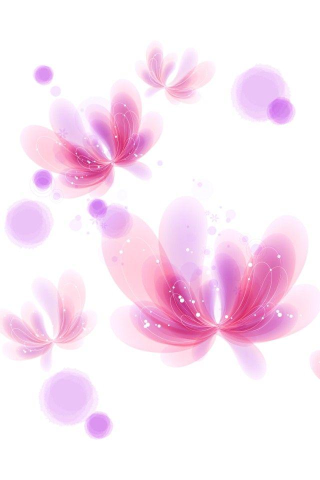 iPhone 4 Digital Flower Wallpaper 11 Wallpaper iphone