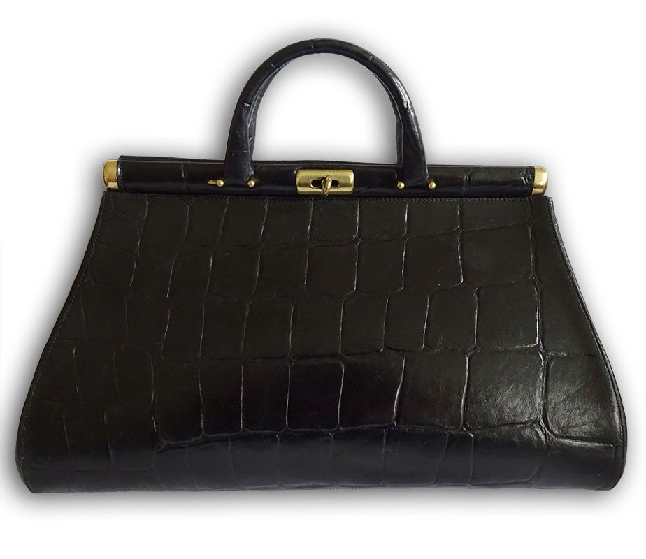 cdd264956c7 Mulberry black congo leather vintage gladstone doctors bag - Labels Most  Wanted. 38x22x14 cm. Preloved £110.