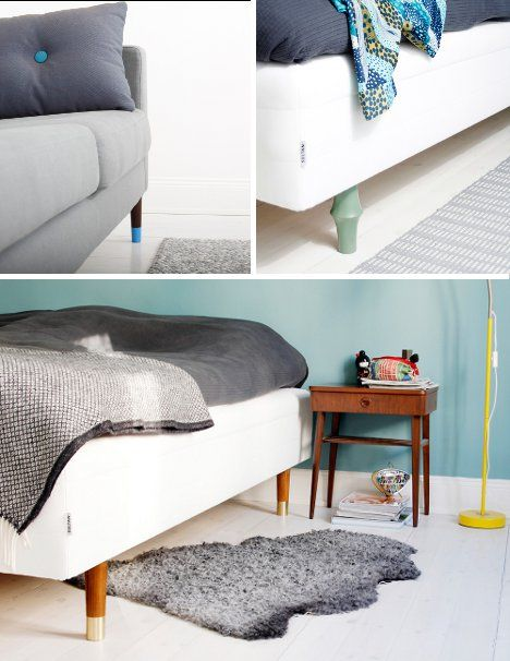 How To Replaceable Ikea Furniture Legs