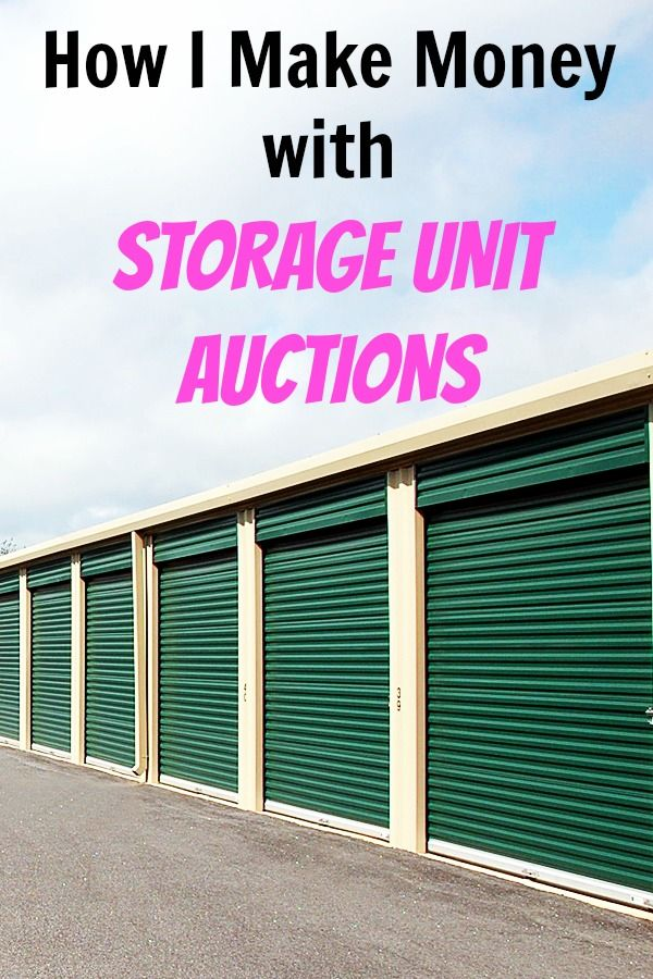 Storage Unit Auctions Make Money From Abandoned Lockers