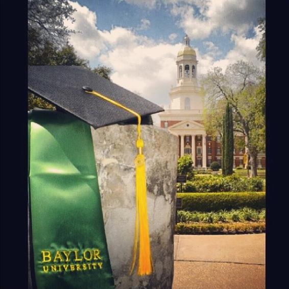 Who's ready for #Baylor graduation? (via bayloruniversity & ms_krystalmarie on Instagram)  #BaylorGrad14